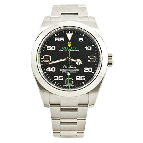 Wind Rolex Watch (Rolex Rolex Air-King automatic-self-wind mens Watch 116900ARA (Certified)