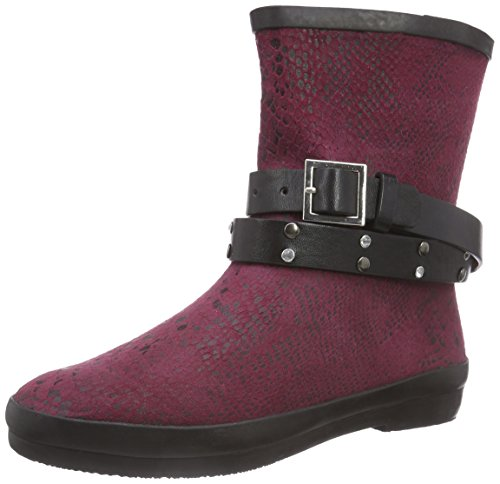 Wolpertinger Bordeaux Bootees Cold Boots Shaft Boots Short Lined Women's Rubber amp; Violett Perth Purple UrqxvwUOR