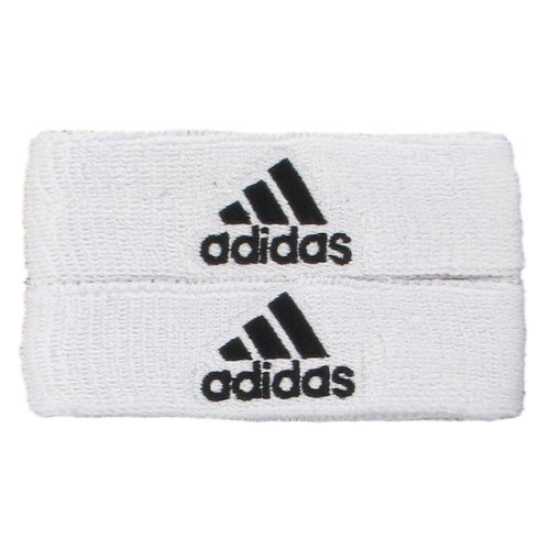 adidas Interval 1-inch Muscle Band, White/Black, One Size Fits All