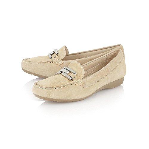 Satin amp; maille ouverte Lotus Nude chaussures pour en les Nude Tina qac1E4t