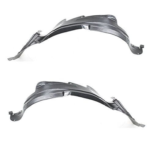 Koolzap For 99-04 Chevy Tracker Front Splash Shield Inner Fender Liner Left & Right SET PAIR ()