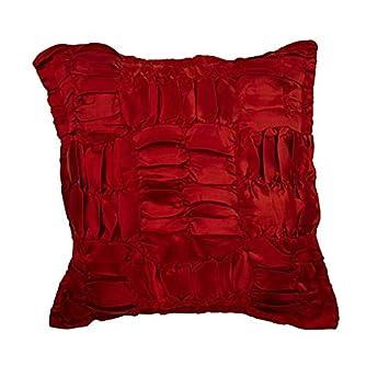 Amazon.com: Decorativos fundas de almohada rojo,, Para el ...
