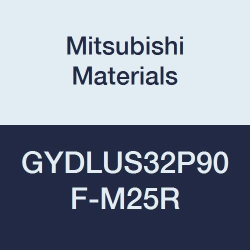 Mitsubishi Materials GYDLUS32P90F-M25R GY Series Modular Type Internal Grooving Holder with Right Hand M25 Modular Blade, Left Hand, 90° Angle, 3.25'' Neck, 2'' Height, 2'' Width, 6.75'' Length by Mitsubishi Materials