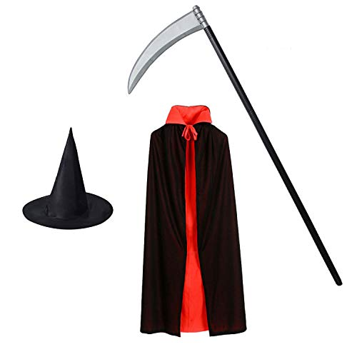 Sorcerer Mickey Costumes Pattern - Inxens Halloween Wizard Costume Accessories Black