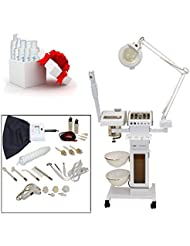 11 in 1 Multifunction Facial Machine with Facial Steamer & Magnifying Lamp