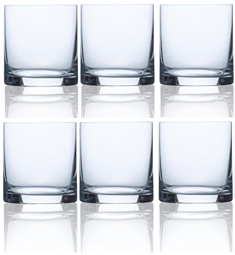 Scotch Old (Circleware 44616 Soiree Double Old Fashioned Scotch and Whiskey Cups, 15 Oz, Set of 6, Glassware Glasses for Beer, Wine and Beverage Drinks, Soiree 15 oz. 6pc)