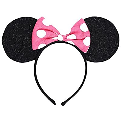 Amscan - Minnie Mouse Helpers Deluxe Headband (ea.): Toys & Games