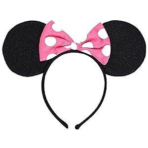 - 41qiq9ua7cL - Amscan – Minnie Mouse Helpers Deluxe Headband (ea.)