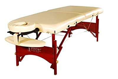 "Master Massage 28"" Vista Portable Massage Table Package with Memory Foam"
