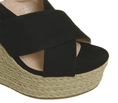 Habanera Espadrilles Cross Office Vamp Black 4WBnqRn