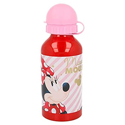 Stor Botella Aluminio 400 ML. Minnie Electric Doll