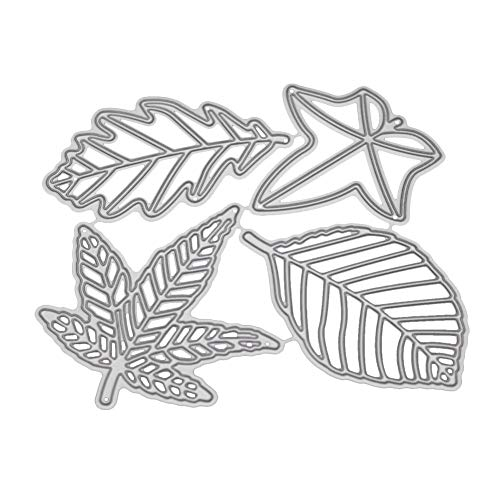 (POQOQ Cutting Dies for Card Making, Cut Die Metal Stencil Template Mould for DIY Scrapbook Embossing Decoration, for Sizzix Big Shot/Cricut Cuttlebug/and Other Punching Machine B)