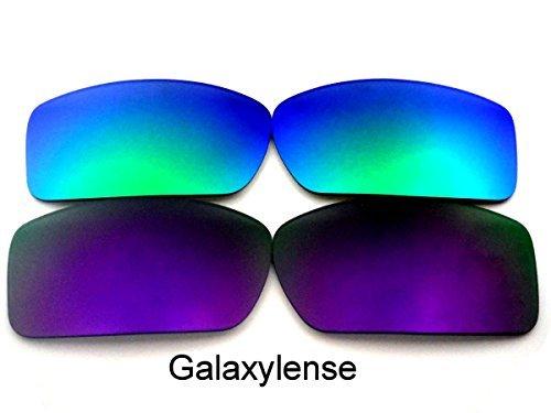Vert Lentilles Remplacement Violet Hommes Ou amp; Galaxylense Femmes Gascan De Pour Oakley gqn1wf