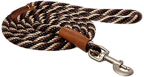 Image of Mendota Dog Products Snap Leash, 1/2-Inch by 6-Feet, Twist Mocha