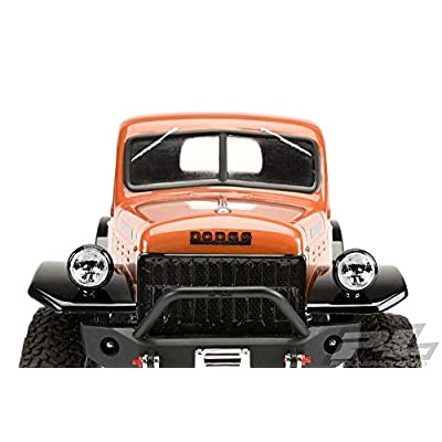 Pro-line Racing 1/10 1946 Dodge Power Wagon Clear Body with 12.3 Wheelbase: 1/10 Rock Crawlers, PRO349900: Toys & Games