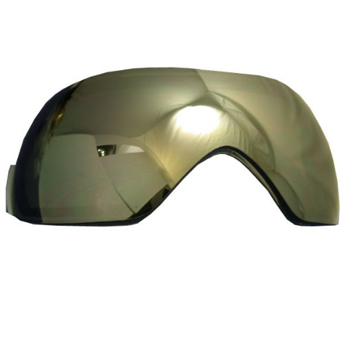 VForce Morph/Shield/Profiler Thermal Dual Pane Goggle Lens – Mirror Silver, Outdoor Stuffs