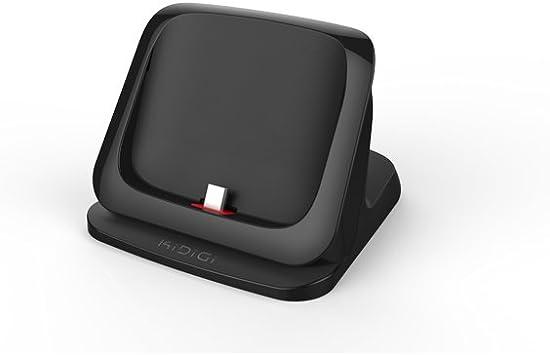 KiDiGi LC5-MTMG - Base de carga y sincronización para Motorola Moto G Cover-Mate: Amazon.es: Electrónica
