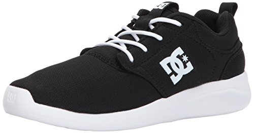 Pictures of DC Kids' Midway Skate ShoesBlack/White5 M ADBS700054 1