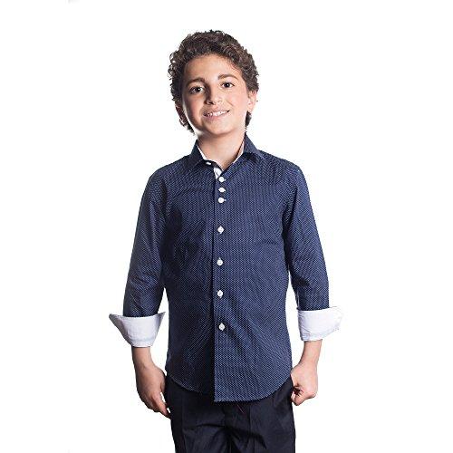 8e53745aa Elie Balleh Brand Boy's Style Slim Fit Shirt by Elie Balleh (Image #1)