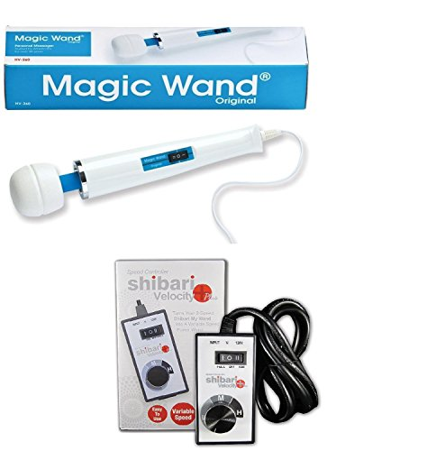Use Wand Magic Hitachi - Magic Wand Massager with Shibari Variable Speed Controller
