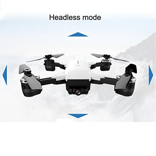 YH-19HW Wifi FPV 0.3MP Camera Foldable 2.4G 6-Axis Selfie Quadcopter Drone Toys New Practical Dreamyth (White) by Dreamyth