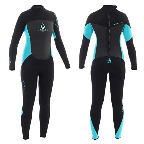 Legacy Watersports Ladies 5mm Full Length Winter Wetsuit (Sizes 6-16)