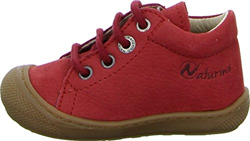 Naturino FALCOTTO 3972, Baby Mädchen Lauflernschuhe Rot (Rosso)