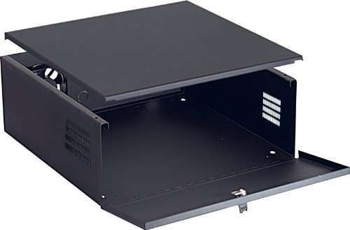 VMP DVR-LB1 DVR Lockbox with Fan (Black)