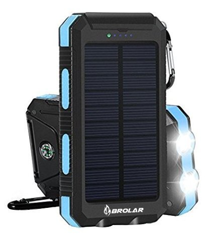 Travel Solar Battery Charger - 6