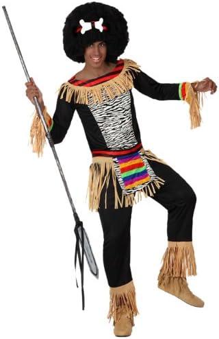 Atosa-15302 Disfraz Zulú, color negro, XL (15302): Amazon.es ...
