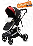 R for Rabbit Hokey Pokey - The Ultimate Baby Stroller - Pram (Red)