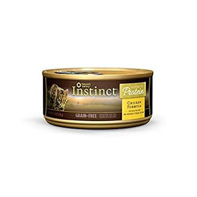Click for Instinct Ultimate Protein Grain Free Recipe Natural Wet Canned Cat Food by Nature's Variety