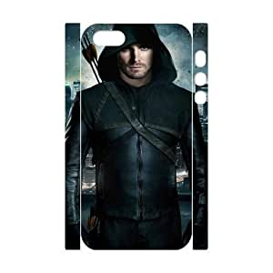 C-EUR Cell phone Protection Cover 3D Case Green Arrow For Iphone 5,5S