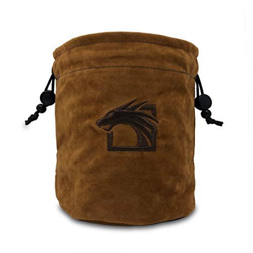Dragons Play Multipocket Dice Bag (Brown)