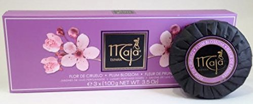 Maja Plum Blossom Luxury Perfumed Soaps (3x100g)