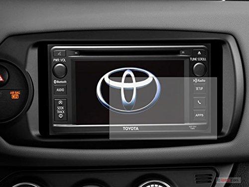 PcProfessional Screen Protector (Set of 2) for 2018 2019 Toyota Highlander Tacoma 4Runner Prius C Yaris Liftback 6.1