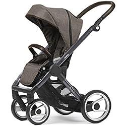 Mutsy Evo Farmer Edition Stroller, Dark Grey Chassis/Earth