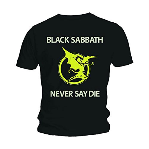 Black Sabbath Never Say Die Yellow