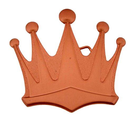 Belt Princess Crown (Crown Emperor Princess Prince King Queen Royal Costume Silver Metal Belt Buckle (Copper))