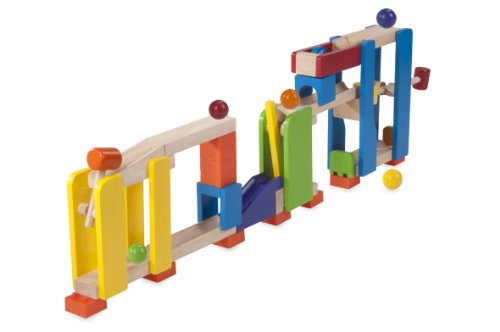 Wonderworld Creative Gravity Play! Trix Tracks Hammer Slammer - 28 Piece Set Unique Kids Toy with Endless Building Options