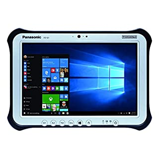 "Panasonic Toughpad FZ-G1 MK2, Intel i5-4310U @2.00GHz, 10.1"" WUXGA, 8GB, 128GB SSD, WiFi, Bluetooth, Rear Cam, Webcam, 2nd USB, Windows 7 Pro (Renewed)"