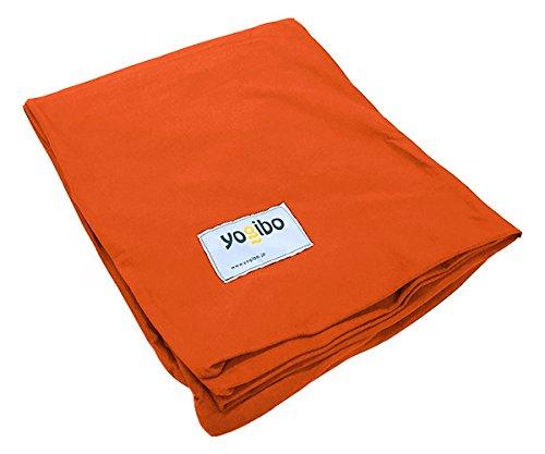【専用カバー】Yogibo Midi (オレンジ) B0152GJXUY オレンジ オレンジ