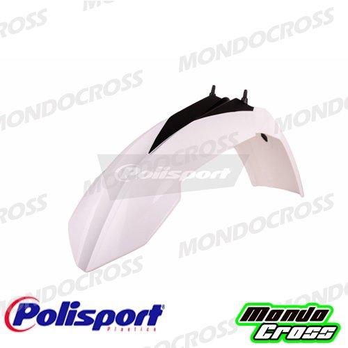 MONDOCROSS Parafango anteriore cross POLISPORT Bianco Colore OEM KTM 250 Freeride 14-17 350 Freeride 12-17 85 SX 13-17