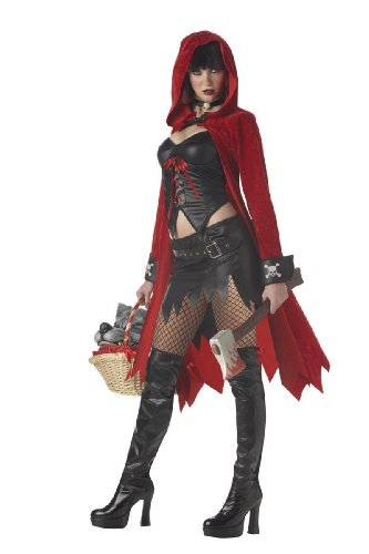 Little Red Riding Hood Adult Costume - -