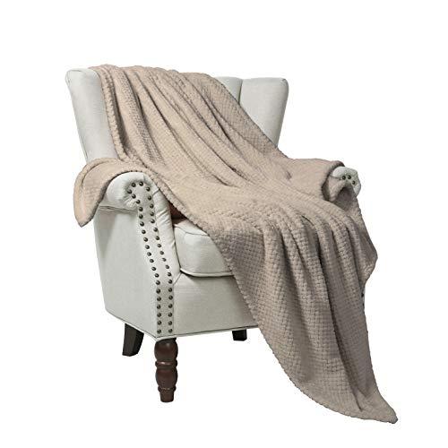 fle Flannel Fleece Velvet Plush Throw Blanket - 50