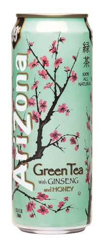 Arizona Green Tea  23 Ounces  Pack Of 24