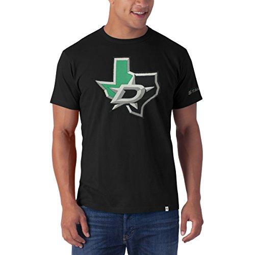 '47 NHL Dallas Stars Men's Knockout Tee, Small, Jet Black -