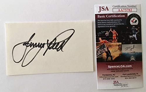 Jerry Reed Autographed Signed 3X5 Card Jsa Certified Smokey And The Bandit