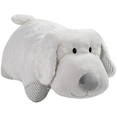 "Pillow Pets My First White Puppy Stuffed Animal - 18"" Stuffed Animal Plush Toy"