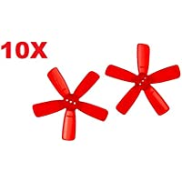 UUMART 20Pcs KingKong 1935 Propeller 5-Blade Prop for Q90 90GT FPV Drone Recommended Motor 1103 1104